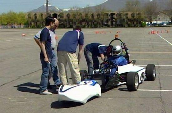 byu hybrid electric racecar 4