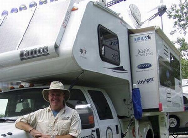 Camper converts Ford F-350