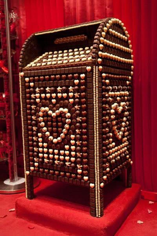 Chocolate Mail Box