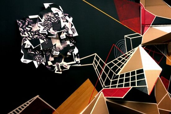 clemens behr recycled cardboard origami art 7
