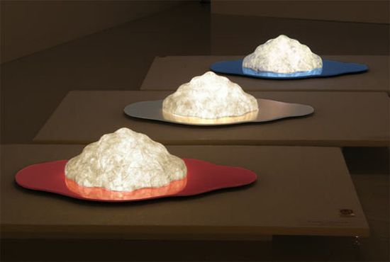 cloud lamp made from japanese paper 1