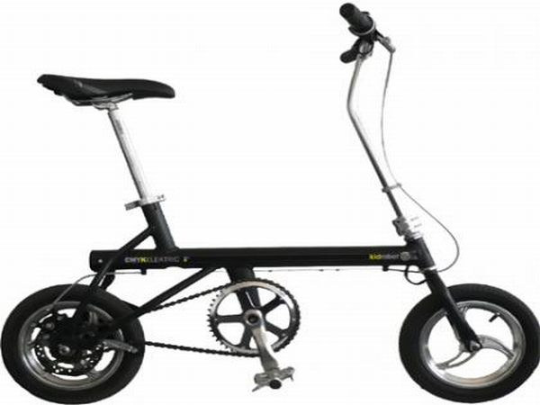 CMYK folding electric bicycle