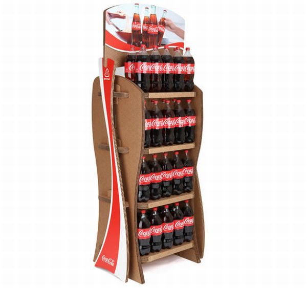 coca cola recyclable rack 1