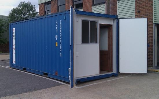 computer aid international shipping container cybe