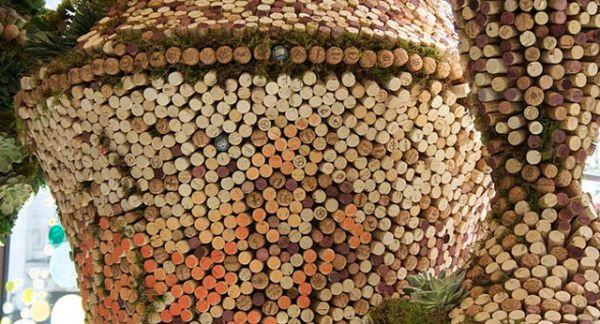 Corks Art for Wedding