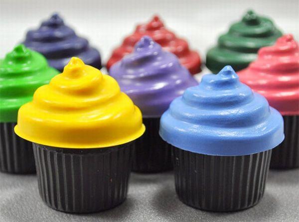 Cupcake crayons