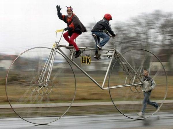 Didi Senft largest bike