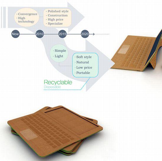 disposable paper laptop 2