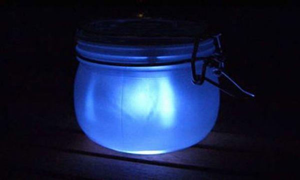 DIY Solar Sun Jar Light
