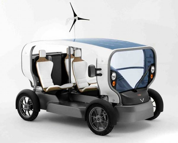 Eclectic vehicle by Venturi