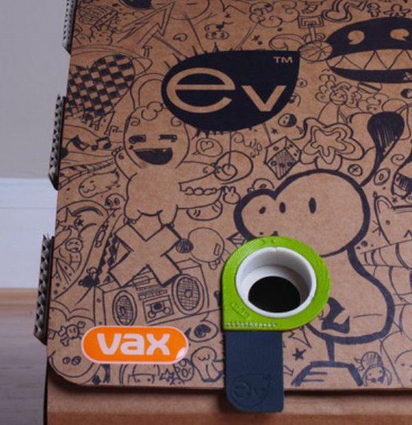 Eco-Friendly Cardboard Vacuum