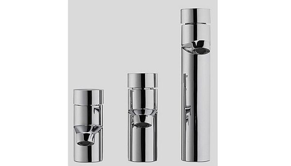 Eco friendly faucets in black and white