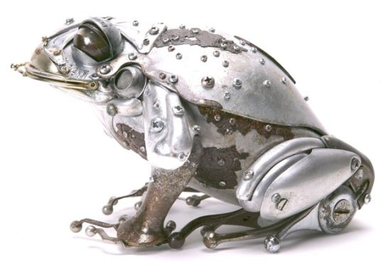 edouard martinets recycled metal sculptures 13