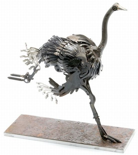 edouard martinets recycled metal sculptures 5
