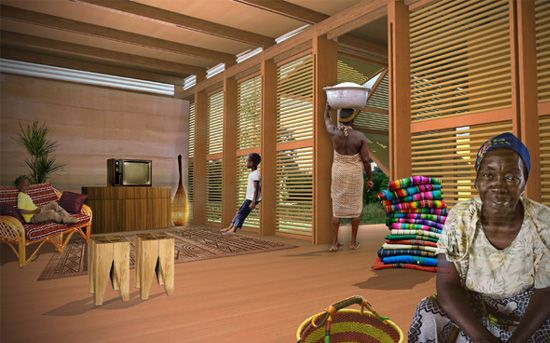 emerging ghana sustainable eco affordable housing