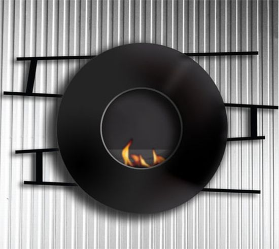 ethanol fireplace model evo
