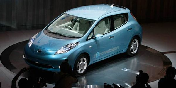EVs storing electricity