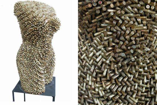 female torsos recycled material 12