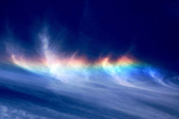 Fiery rainbow