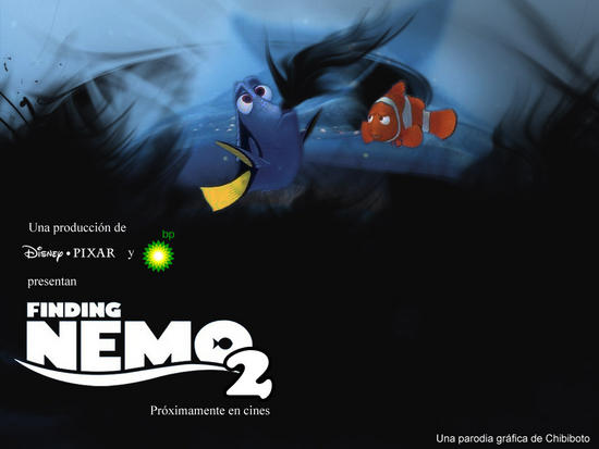 finding nemo 2 bp disaster parody posters 3