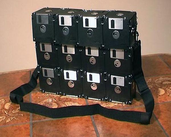 Floppy Disk Laptop Bag