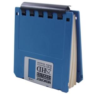 floppy disk note pad