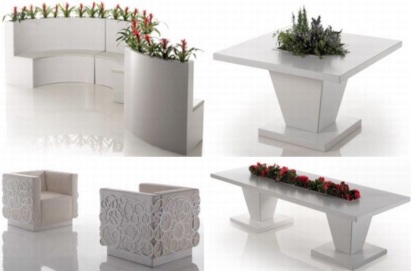Garden furniture by Bysteel