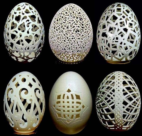 gary lemaster eggshel sculptures 1