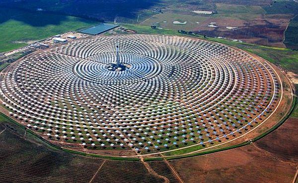 Gemasolar Array Solar Plant