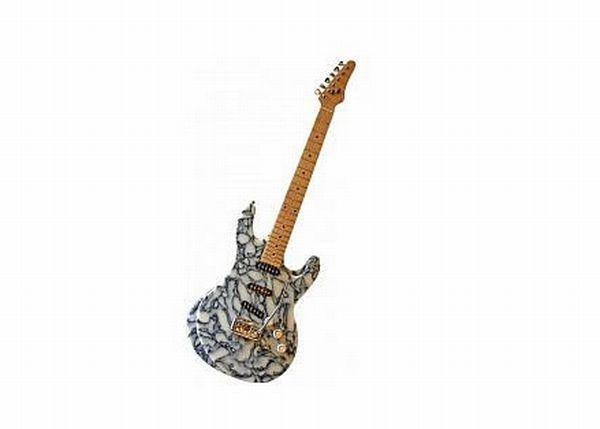 Glastonbury Recycled guitar