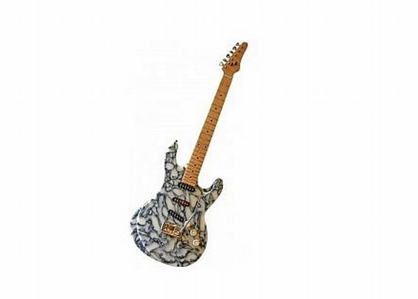 Glastonbury Recycled guitar