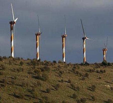 Golan Wind Farm Turbine Design