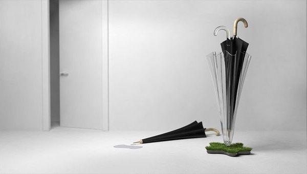 Grass Umbrella Stand