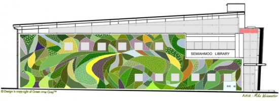 green over grey living wall 3