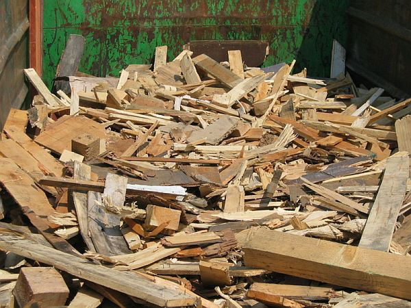 Green energy from scrap wood