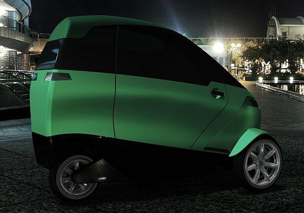 Green Lite Motors hybrid trike concept