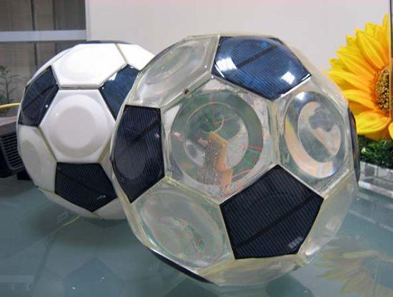 greendix solar powered football