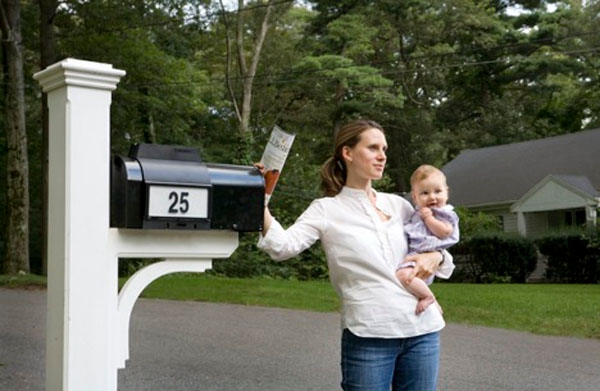 Guiding light mailbox