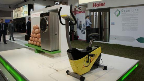 haier bike powered washing machine 1