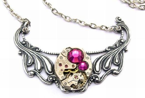 handmade steampunk jewelry 1