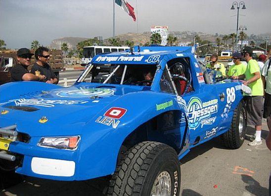 hessgen hydrogen powered race car