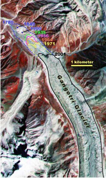 himalayan glaciers retreating alarmingly 9