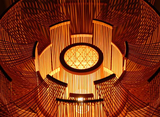 hokore bamboo floor lamp 1