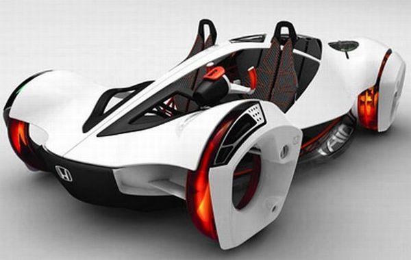 Honda air powered car