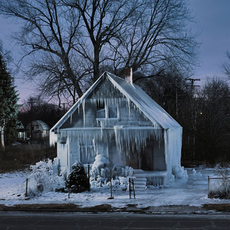 How to build a green ice house
