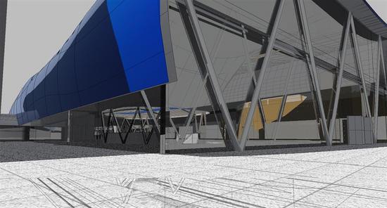 intermodal transit hub 7