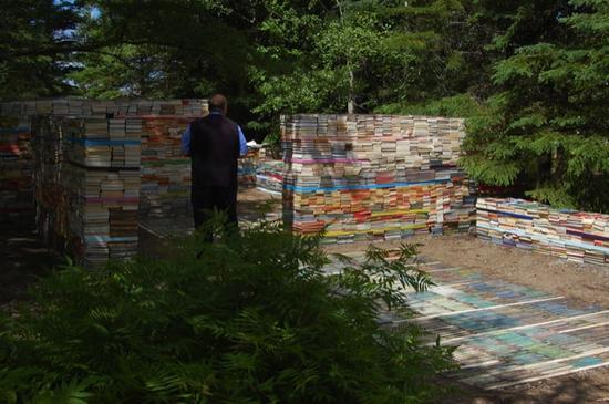 jardin de la connaissance book installation 5