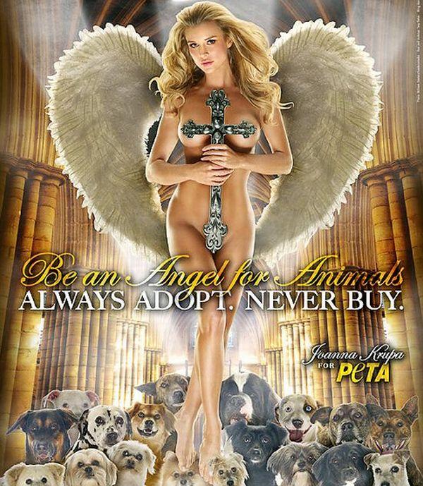 Joanna Krupa for PETA