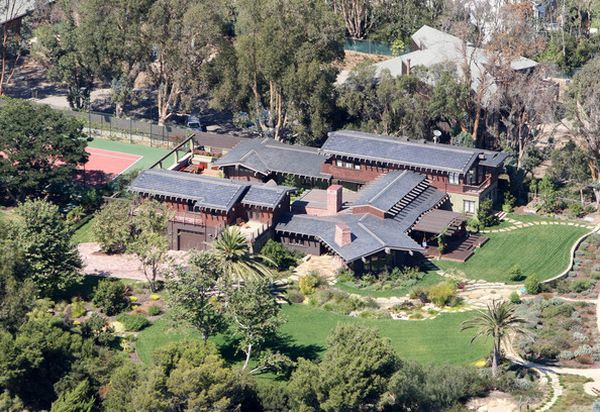 Julia Roberts' Malibu Mansion