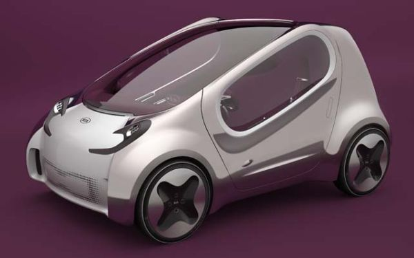 Kia Pop electric car concept